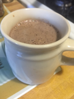 A Healthy Hot Chocolate Treat