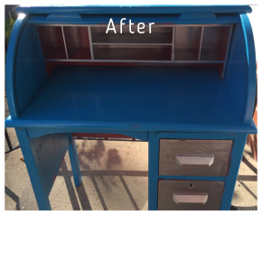Refurbishing a Secretaries Desk
